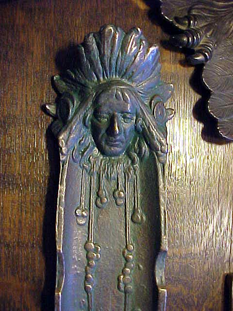 Indian Chief Vintage >> Don's Lamps & Antiques: American Indian Pen Tray