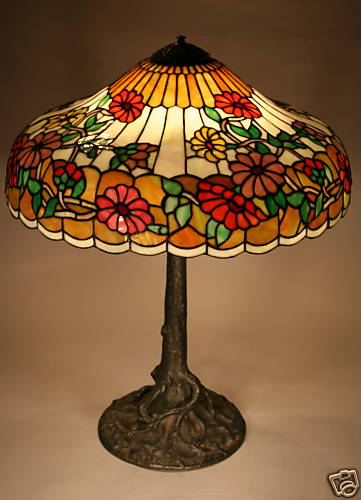Don S Lamps Amp Antiques Chicago Mosaic Lamp Co Table Lamp