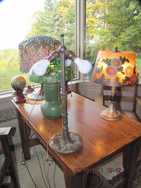 Don S Lamps Amp Antiques Chicago Mosaic Table Lamp