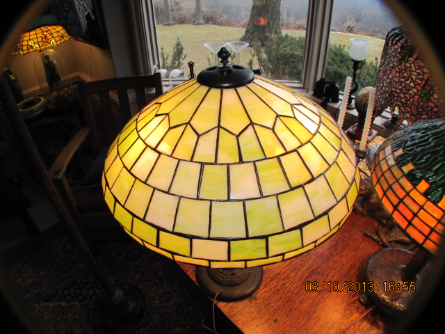 FOR $480. NOTE, BY COMPARISON A NEW MODEL A FORD OF THAT YEAR COST $450.  TODAY Du0026K LAMPS ARE LIKE TIFFANY STUDIOS, HIGHLY COLLECTABLE AND IN GREAT  DEMAND