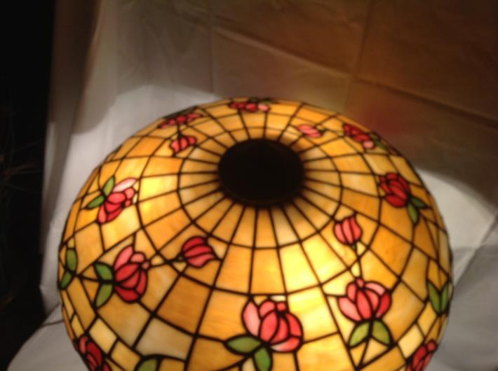 Don U2019s Lamps  U0026 Antiques  J A  Whaley Leaded Glass Lamp