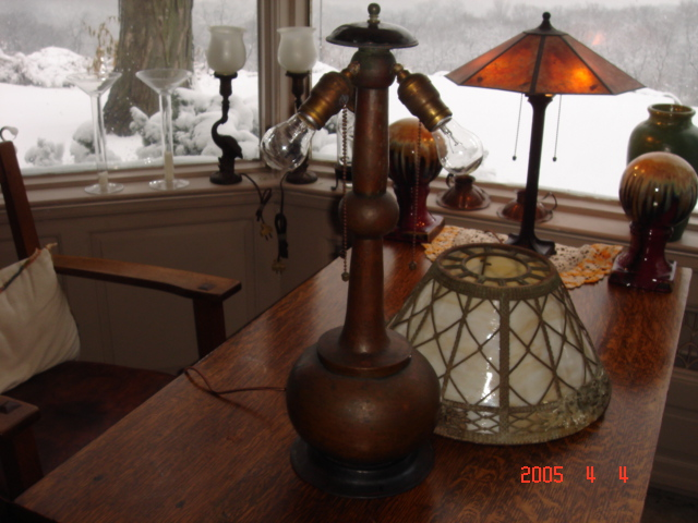 Don S Lamps Amp Antiques Limbert Arts And Crafts Table Lamp