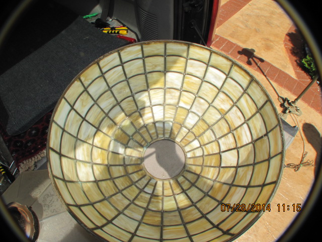 Don S Lamps Amp Antiques Spider Web Shade