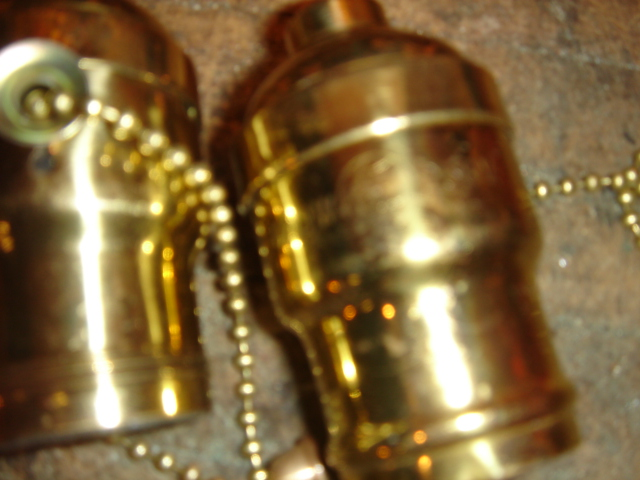 Dons Lamps Antiques Hubbell Shiny Sockets
